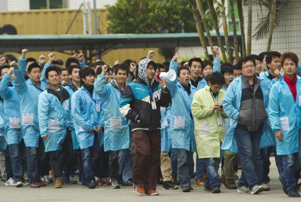 Забастовка на фабрике IBM в Китае отражает перемены на рынке труда