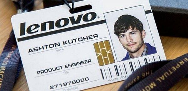 Lenovo Эштон Кутчер