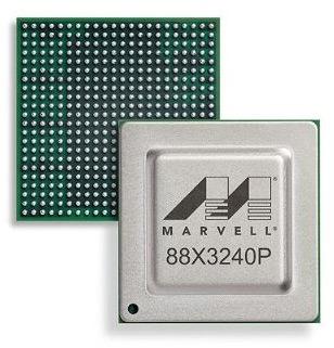 Микросхема Marvell Alaska X 88X3240P выпускается по 28-нанометровой технологии