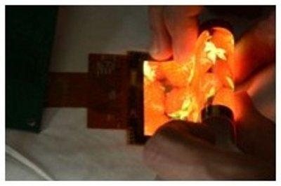 Специалистами Visionox создана очень гибкая цветная панель AMOLED, в которой используется технология LTPS