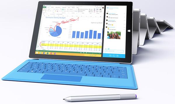 Топ-версия планшета Microsoft Surface Pro 3 оснащается процессором Intel Core i7-4650U
