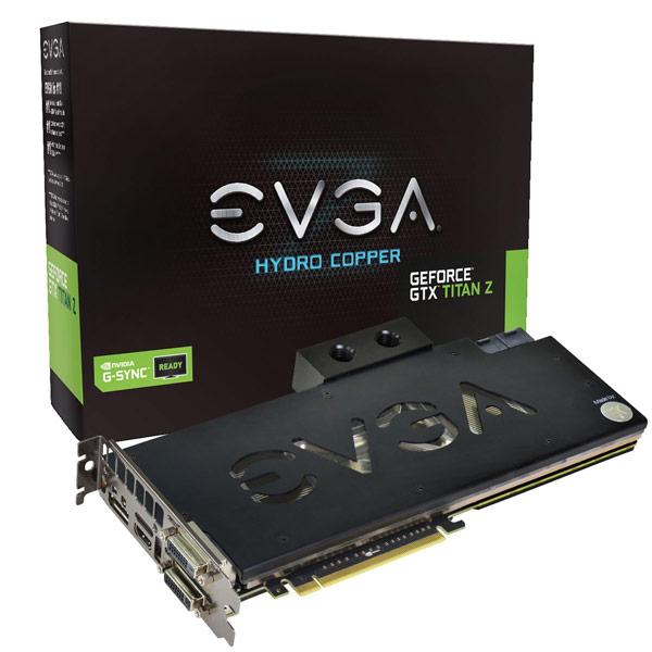 EVGA ��������� ��� �������� 3D-����� GeForce GTX Titan Z, ������� ����������� ������� � ����������