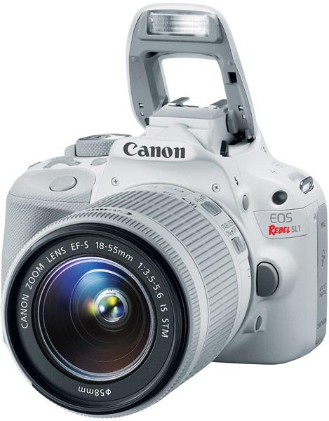 Камера в комплекте с белым объективом EF-S 18-55mm f/3.5-5.6 IS STM будет стоить $750