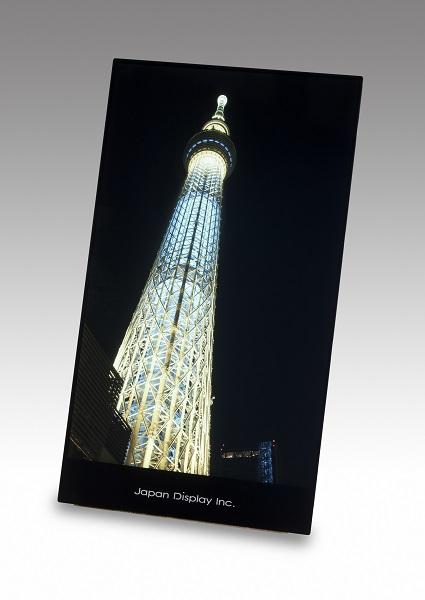 Компания Japan Display представила планшетный дисплей разрешением WQXGA с технологией WhiteMagic