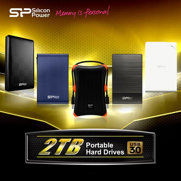 ����������� HDD SP/ Silicon Power �������� ����������� USB 3.0