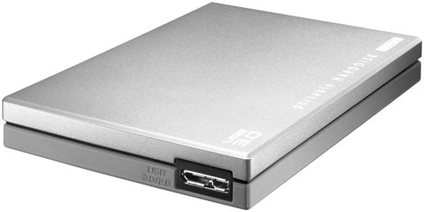 Габариты накопителей I-O Data HDPC-UT — 75 х 112 х 14 мм