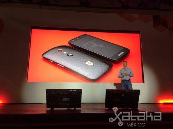 Motorola Moto G Ferrari Edition, официальный анонс