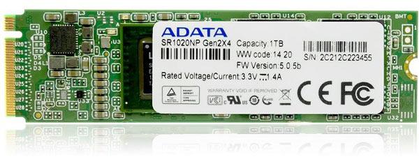 Первыми увидеть накопитель Adata SR1020NP смогут посетители Computex 2014