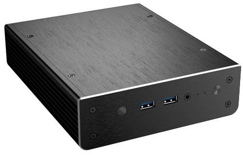 Корпус Akasa Newton X предназначен для мини-ПК Intel NUC на системных платах D54250WYB и D34010WYB