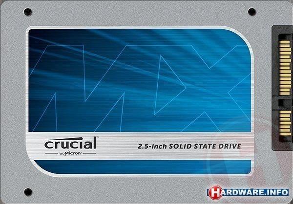 Накопитель Crucial MX100 оснащен интерфейсом SATA 6 Гбит/с