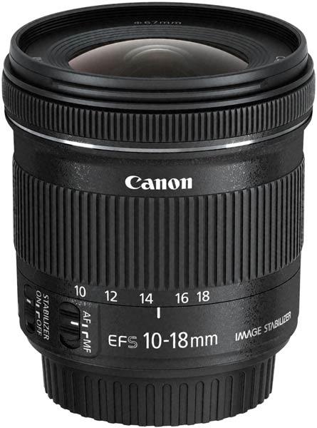Объектив Canon EF-S 10-18mm f/4.5-5.6 IS STM появится в продаже в июне по цене $300
