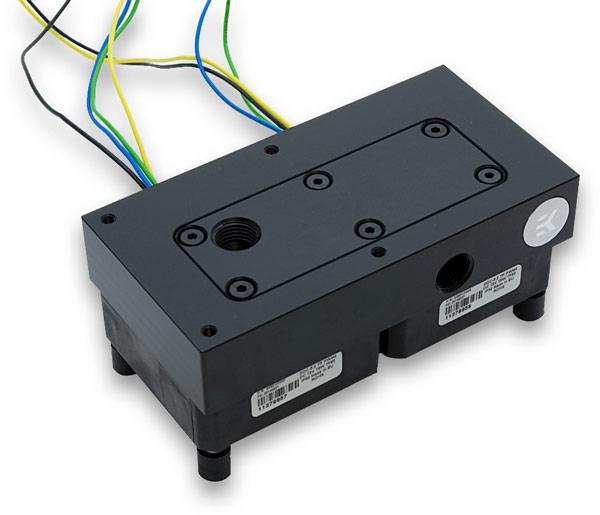 Использование двух помп позволяет повысить давление в системе и подстраховаться на случай отказа одной из них