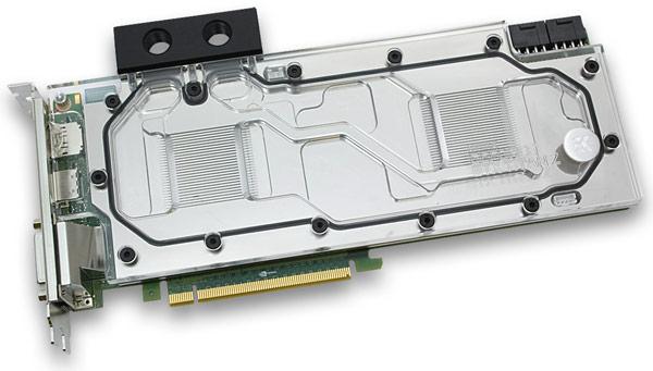 EK Water Blocks EK-FC Titan Z — первый в мире водоблок с полным покрытием для 3D-карты Nvidia GeForce GTX Titan Z