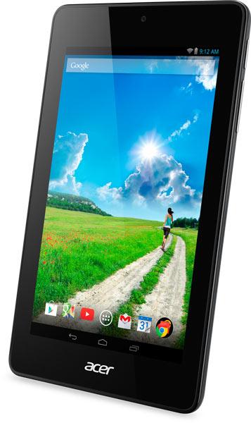 Предусмотрен выпуск вариантов планшета Acer Iconia One 7 красного, белого, черного и других цветов