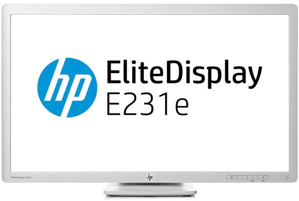 HP EliteDisplay E231e