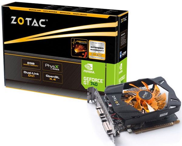 ��� �� ������� ������� 3D-���� Zotac GeForce GT 740 �������� ����������������