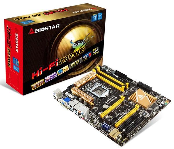 Важной особенностью платы Biostar Hi-Fi Z97WE является наличие двух портов Gigabit Ethernet