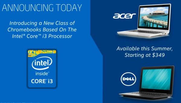 �������� �� ���� ���������� Intel Core i3 �������� � Acer, � Dell