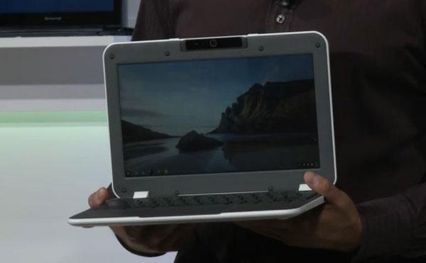 Так выглядит референсный дизайн ученического ноутбука Intel под управлением Chrome OS