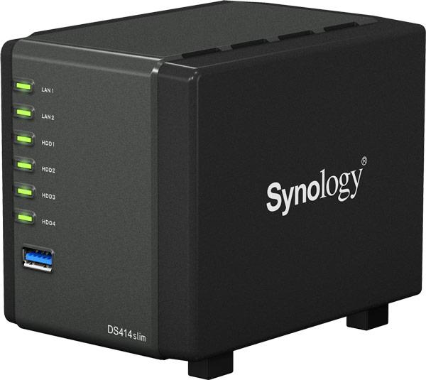������ Synology DiskStation DS414slim �������� ��� ����������� ������������ ������� DiskStation Manager (DSM) 5.0