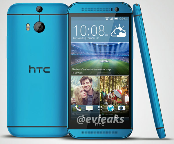 О цене и сроке начала поставок новой версии HTC One (M8) пока данных нет