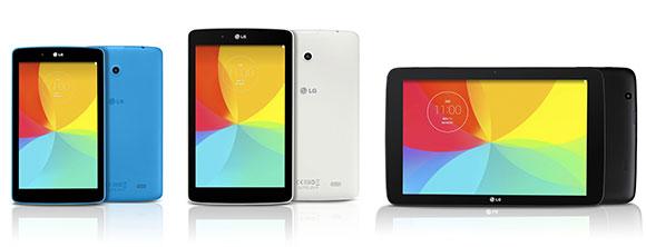 ��������� ������������ � ���� LG G Pad 7.0, G Pad 8.0 � G Pad 10.1 ������ �������� �����