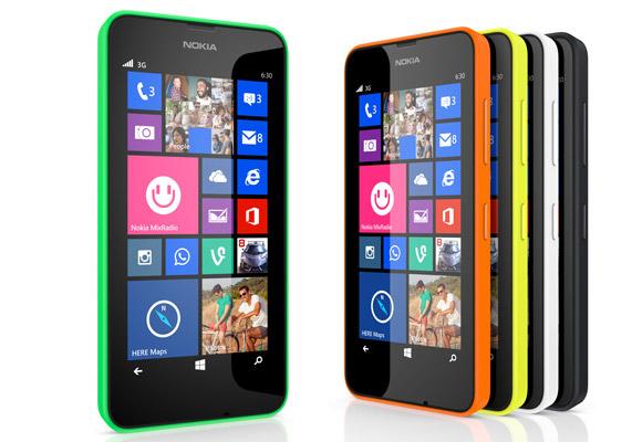 Смартфоны Nokia Lumia 630 и Lumia 630 Dual SIM стоят 119 и 129 евро соответственно