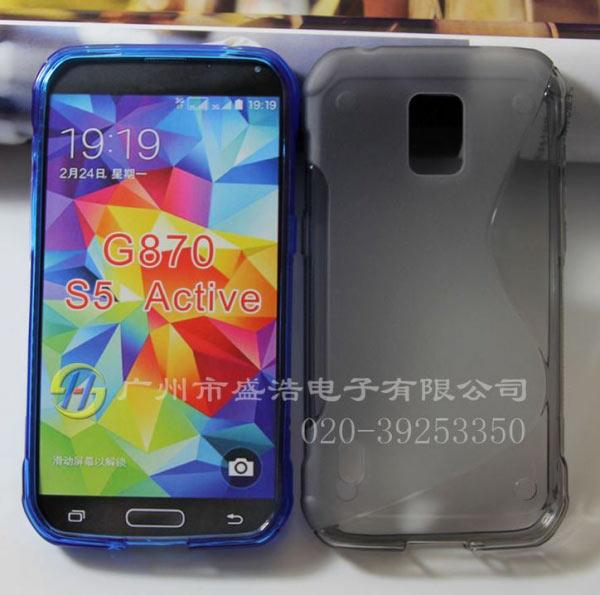 Смартфон Samsung Galaxy S5 Active внешне будет больше похож на своего предшественника, чем на Samsung Galaxy S5