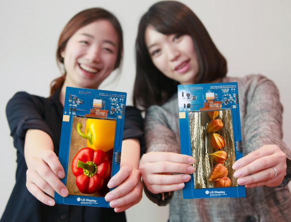Дисплей предназначен для флагманского смартфона LG, который будет выпущен до конца квартала