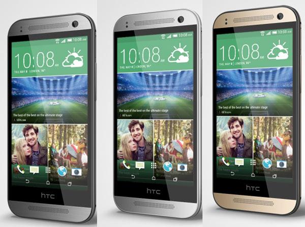 Данных о цене HTC One mini 2 пока нет