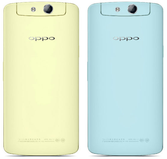Аппарат Oppo N1 mini оснащен немаленьким пятидюймовым экраном
