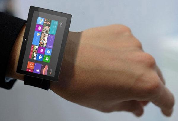 Внешне умные часы Microsoft будут похожи на Samsung Gear Fit