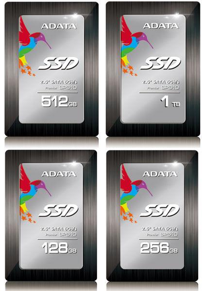 � ����������� Adata Premier SP610 ����������� 2,5 ����� � ����������� SATA 6 ����/� ������������ ����������� SMI