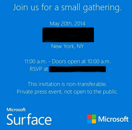 ����������� �� ����������� ����������� Microsoft �������� ����� �� ��������� ����� �������� Surface Mini