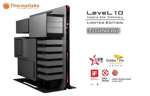 ������ Thermaltake Level 10 Titanium Limited Edition Gaming Station ��������� ���������� �� ������� ������
