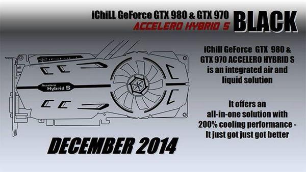 Inno3D GeForce GTX 980 и GTX 970 Accelero Hybrid