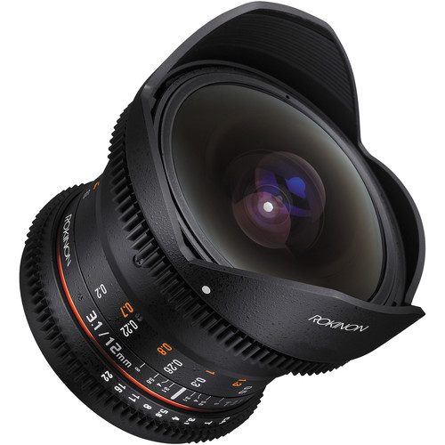 Цена объектива Rokinon 12mm T3.1 ED AS IF NCS UMC Cine DS равна $549