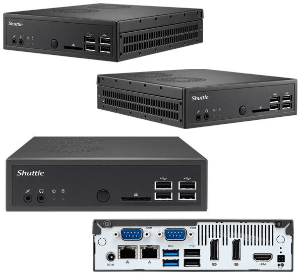 Базовый комплект для сборки компьютера Shuttle DS87 стоит 200 евро