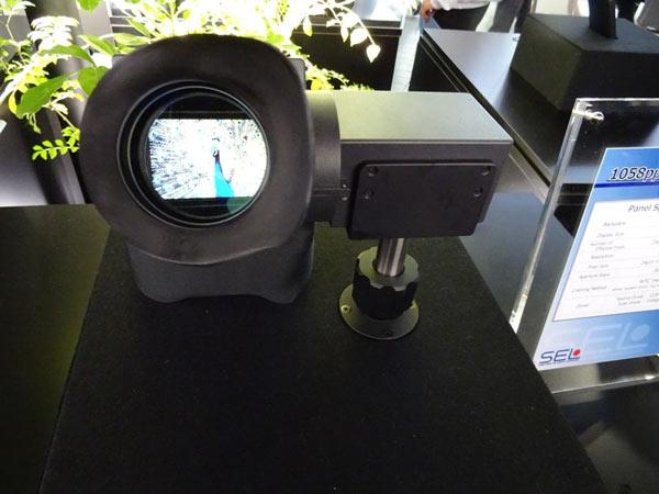 Дисплей размером 2,8 дюйма по диагонали предназначен для электронных видоискателей