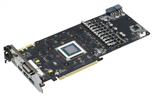 Конфигурация 3D-карты Asus ROG Poseidon GTX 980 включает 2048 ядер CUDA и 4 ГБ памяти GDDR5