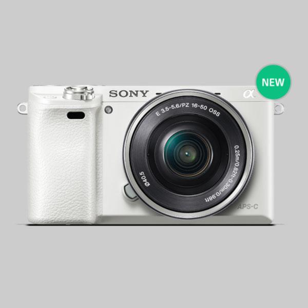 Камера Sony α6000 White Christmas в комплекте с объективом Sony E PZ 16-50mm F3.5-5.6 OSS стоит $1099