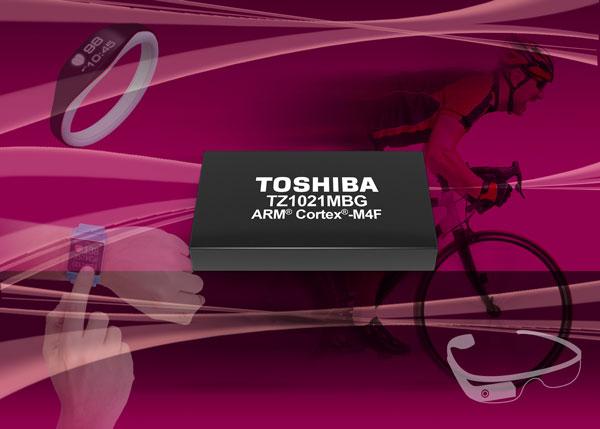 Основой TZ1021MBG служит процессор ARM Cortex-M4F с блоком вычислений с плавающей запятой