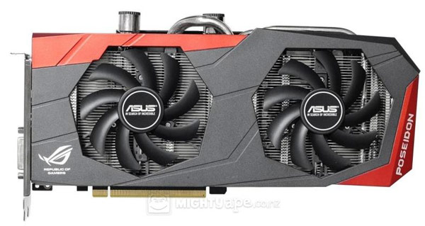 3D-����� Asus GeForce GTX 980 ROG Poseidon �������� ���������� � ��������� �������� ����������