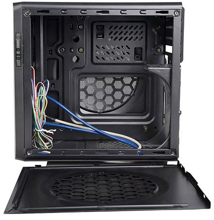 ������ ��� �� Spire PowerCube 710 ��������� �� ��������� ����� ����������� microATX � mini-ITX