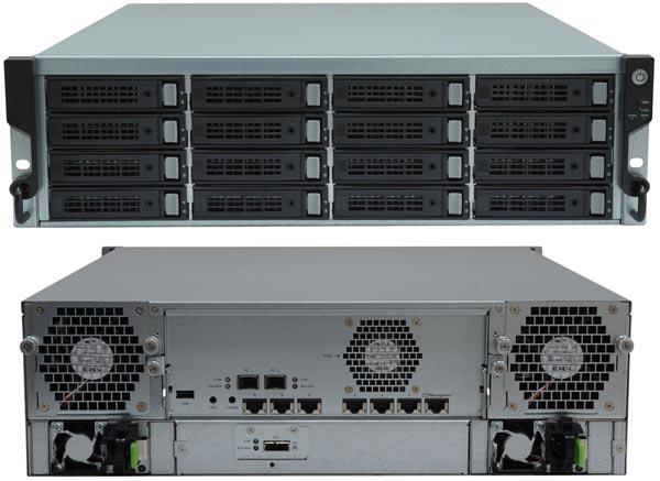 В хранилищах TrioNAS LX U300 используются процессоры Intel Xeon E3-1225 v3