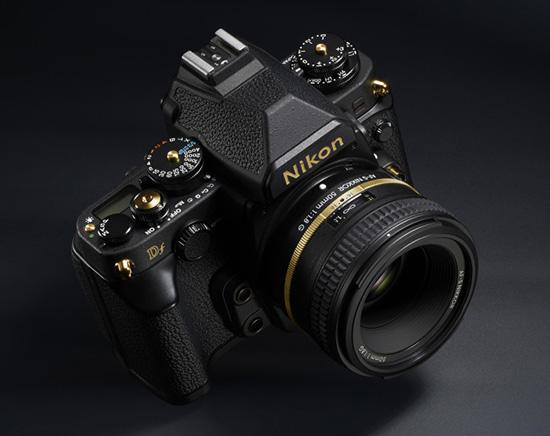 Камера Nikon Df Gold Edition будет выпущена партией из 1600 штук