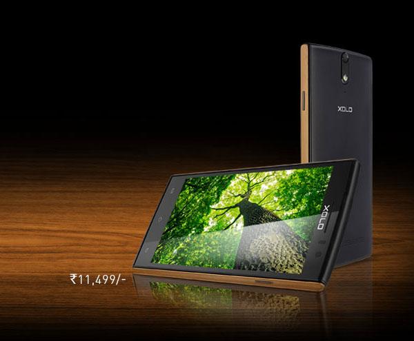 Смартфон Xolo Q1020 оснащен пятидюймовым экраном