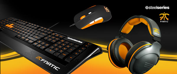 Ассортимент SteelSeries пополнила серия продукции Fnatic Edition