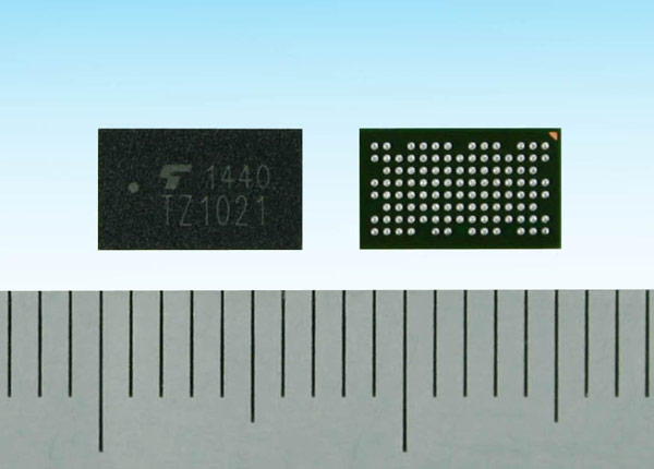 ������� TZ1021MBG ������ ��������� ARM Cortex-M4F � ������ ���������� � ��������� �������