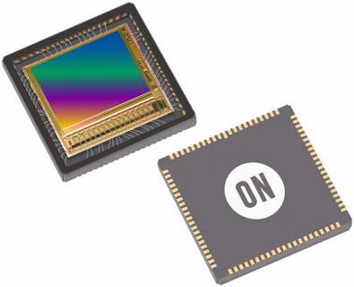 Датчики изображения типа CMOS Python 2000 и Python 5000 имеют разрешение 2,3 и 5,3 Мп соответственно